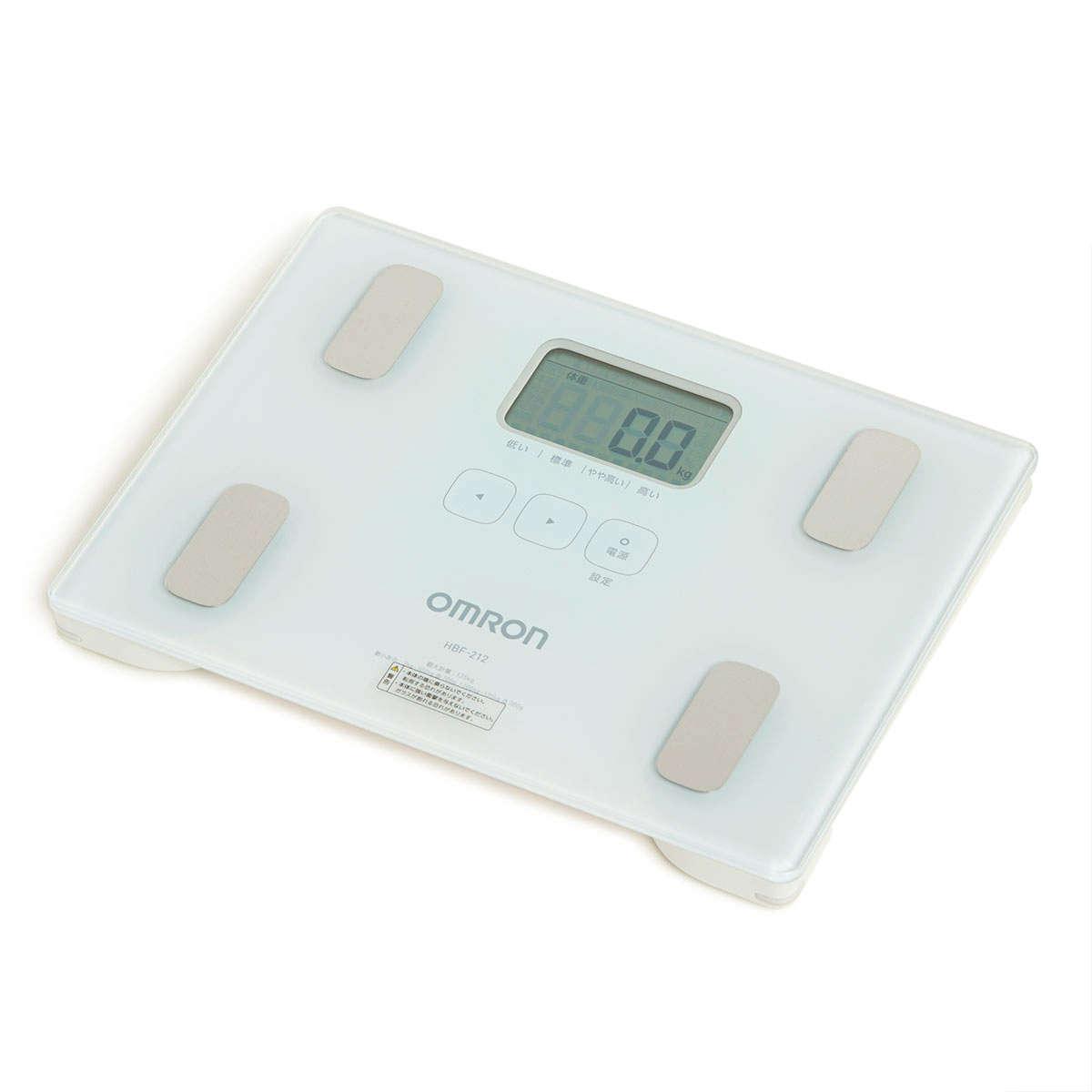 Body Composition Monitors (White) HBF-212