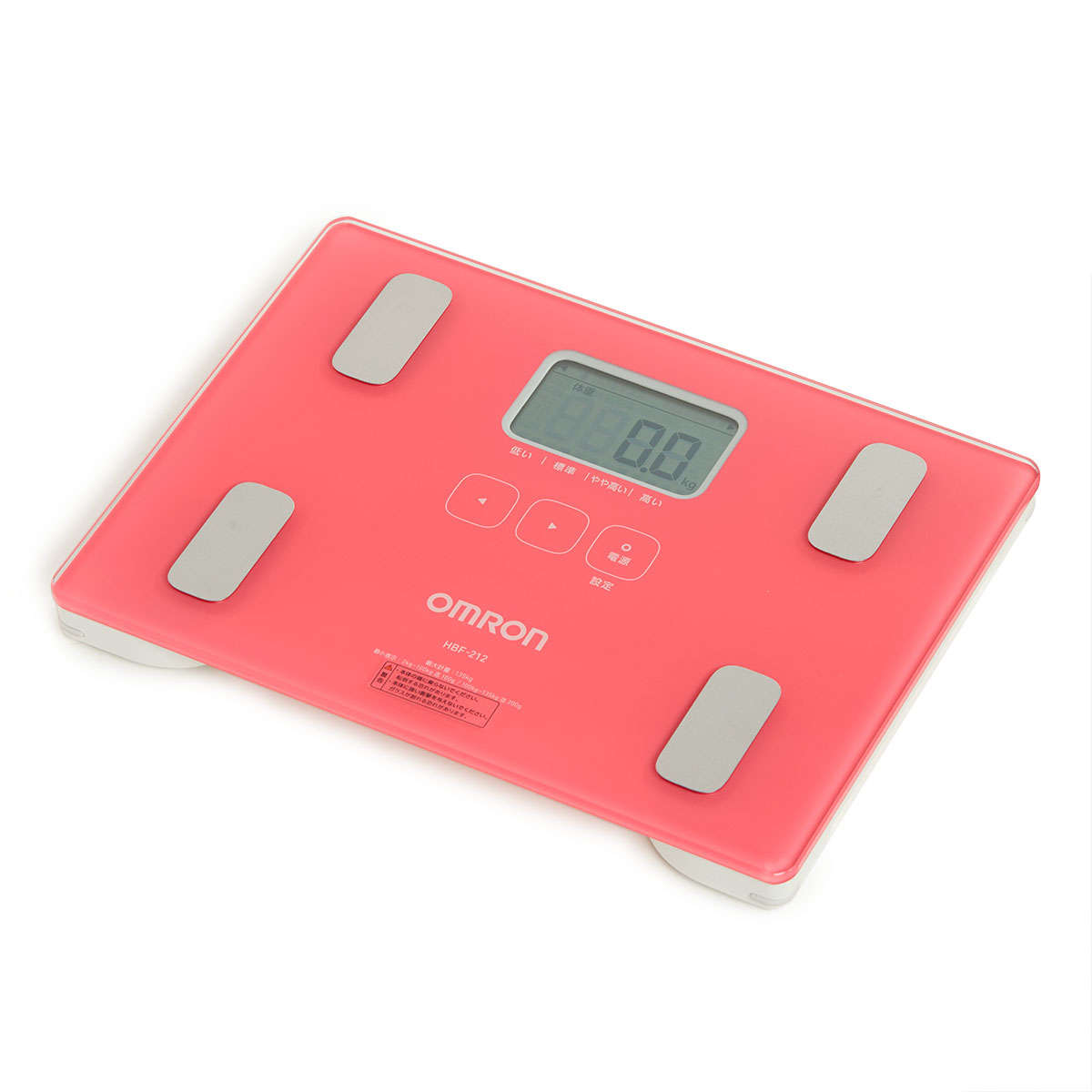 Body Composition Monitors (Pink) HBF-212