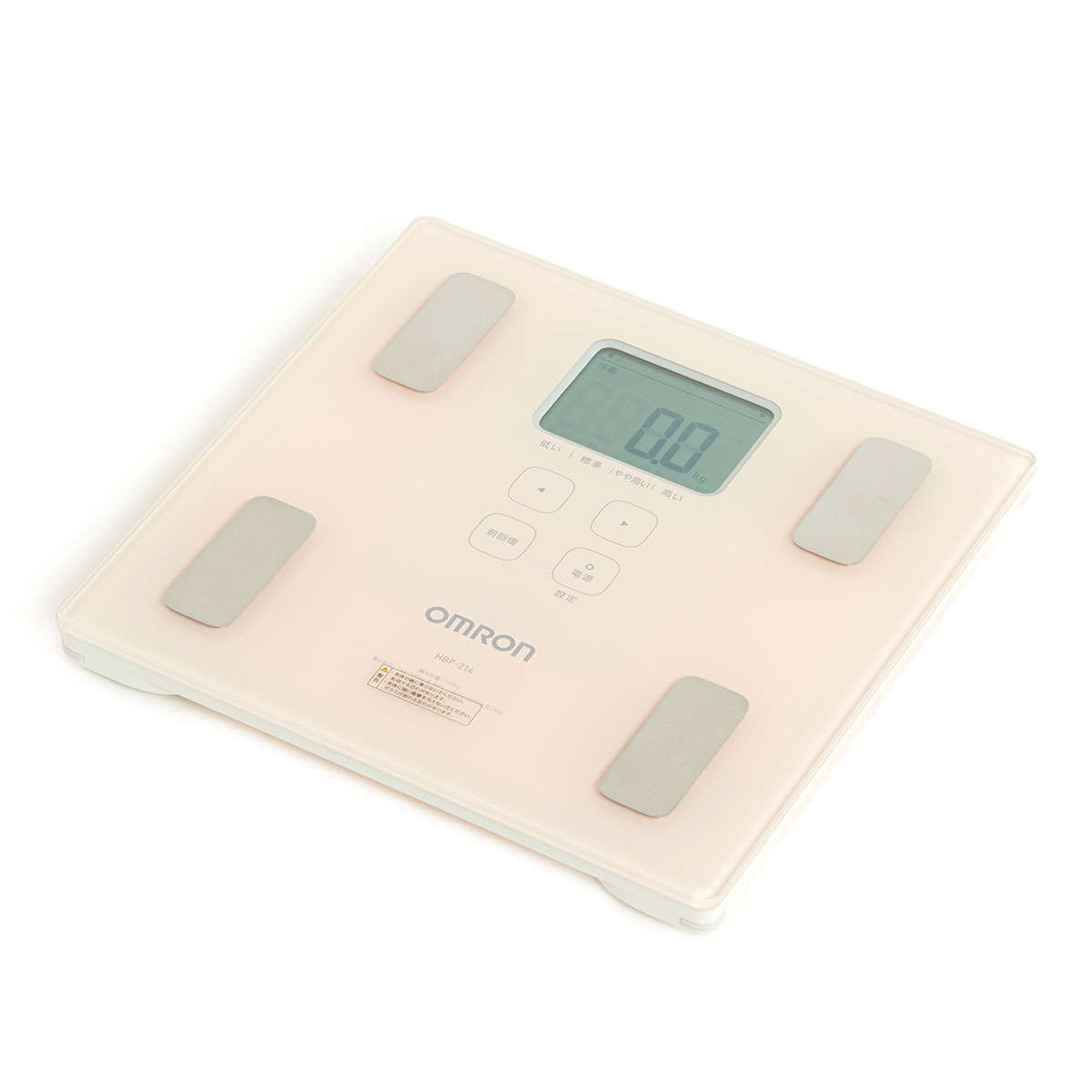 Body Composition Monitors (Pink) HBF-214