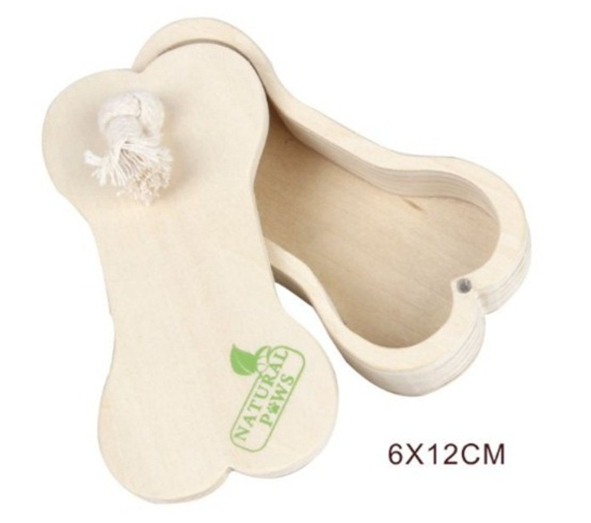 Wooden dog toy 6×12cm