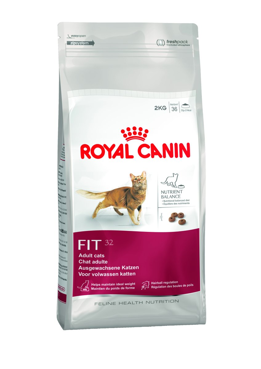 FIT32 Audlt Cat Food 2KG