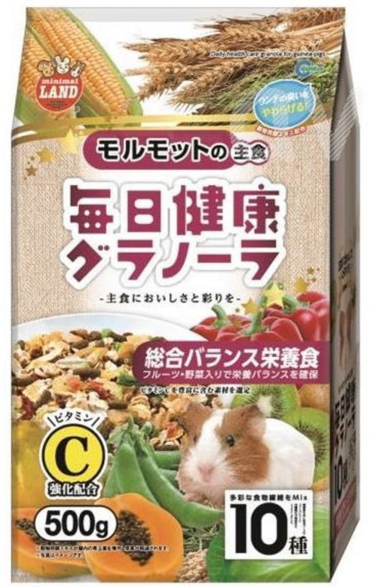 Daily health care granola for guinea-pigs
