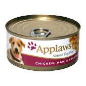 Applaws Chicken Fillet, Ham& Vegetables 156g