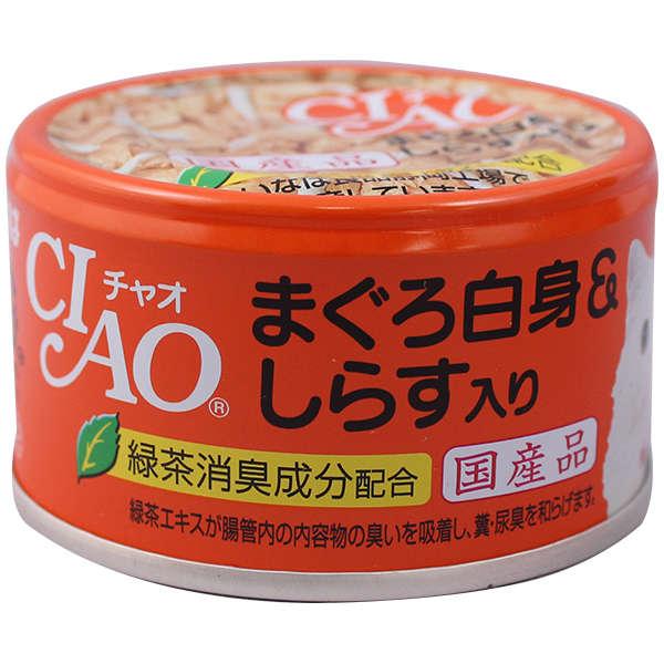 CIAO-A02 'Whity Can Cantuna/shirasu 85g