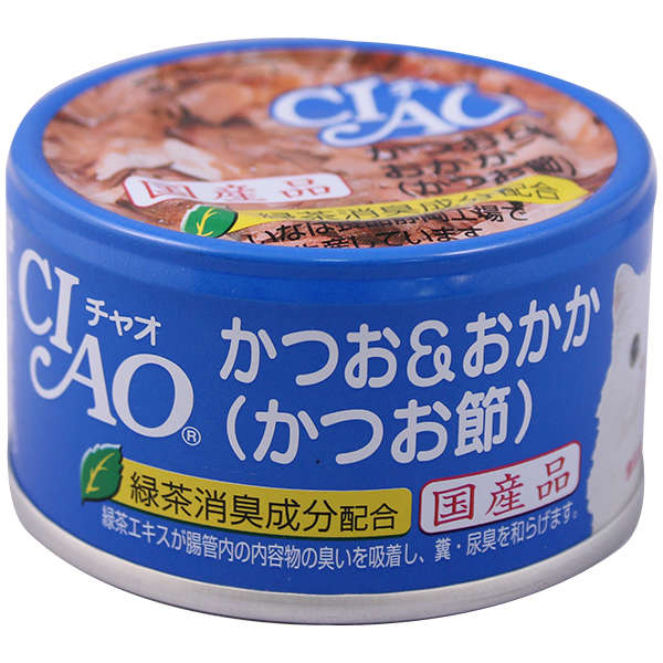 Whity Cat Can bonito/bonito flake(substitution of C-16) 85