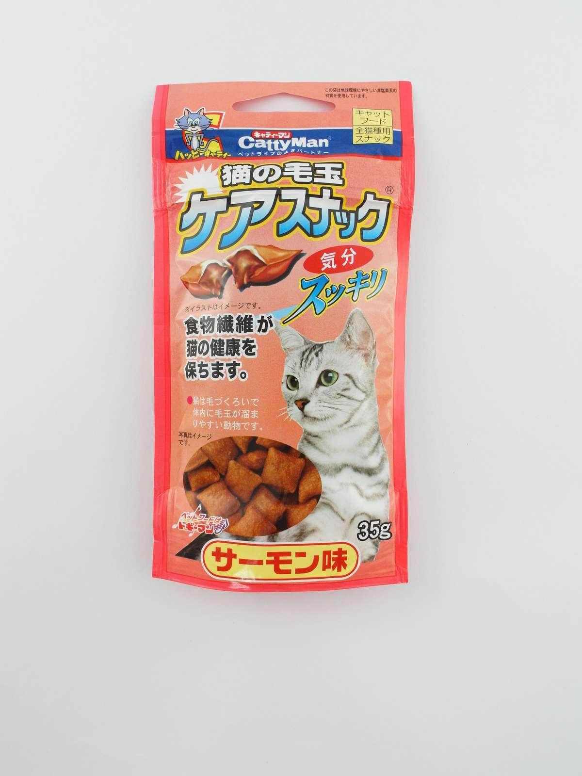 Anti-Hair Ball Care Snack salmon taste35g