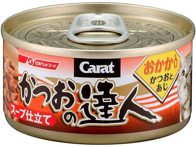 Carat Katuso Tatsujin skipjack with bonito flake 80g