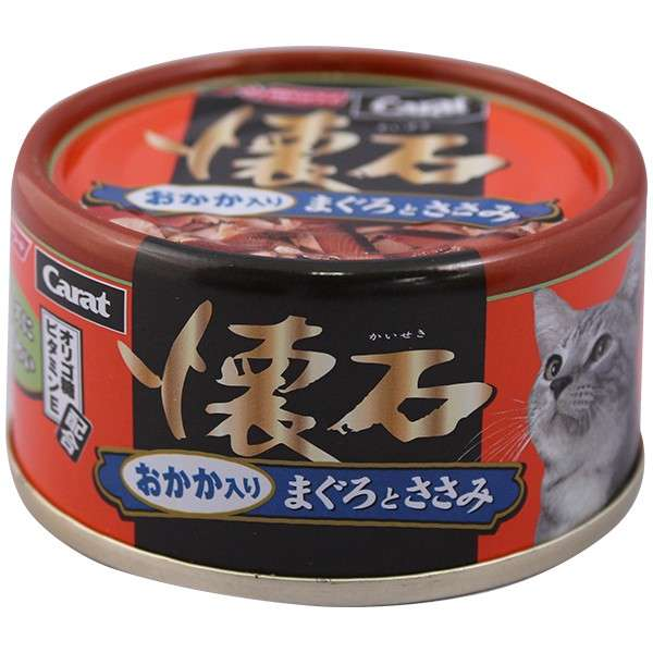 Carat Kaiseki Tuna & Chicken with Bonito flake80g