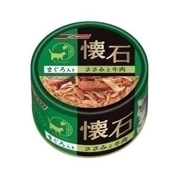 懷石-雞肉牛肉貓罐頭80g