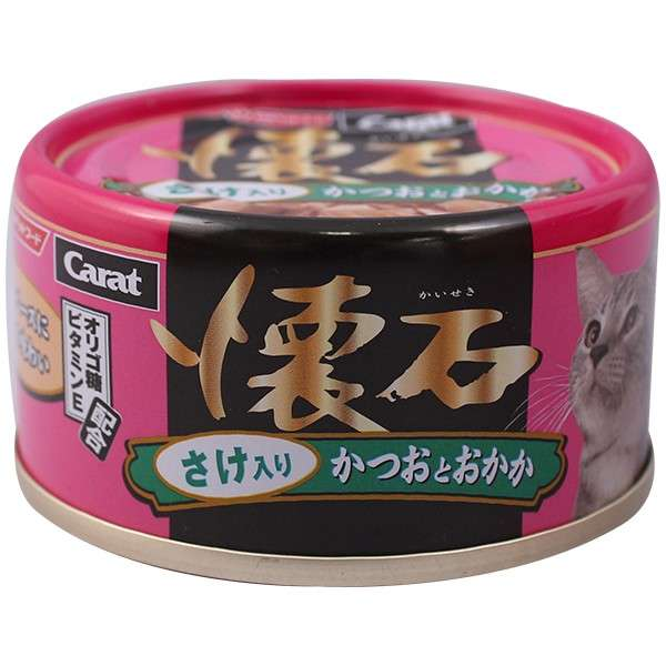 Carat Kaiseki Bonito & Bnito Flake with Salmon80g