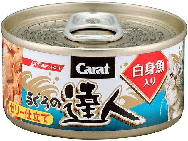 達人-吞拿加白肉鯛魚貓罐頭80g
