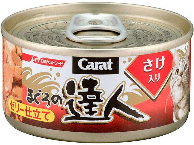 達人-吞拿加三文貓罐頭80g