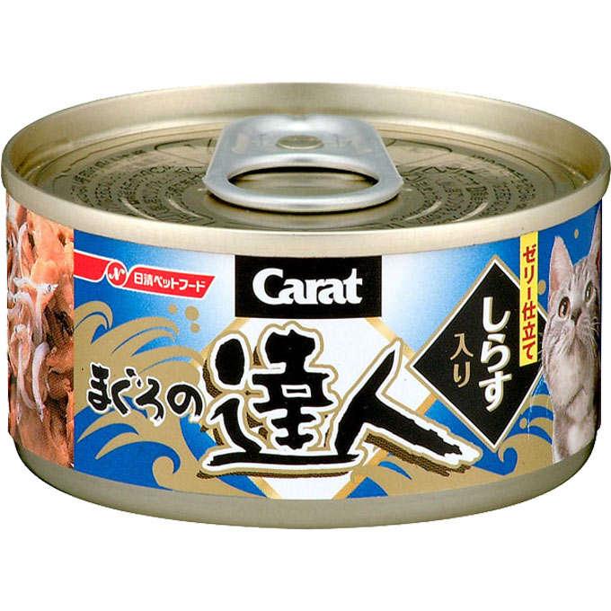 達人-吞拿加白飯魚貓罐頭80g