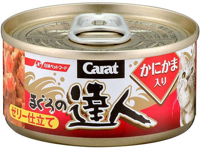 達人-吞拿加蟹球貓罐頭80g
