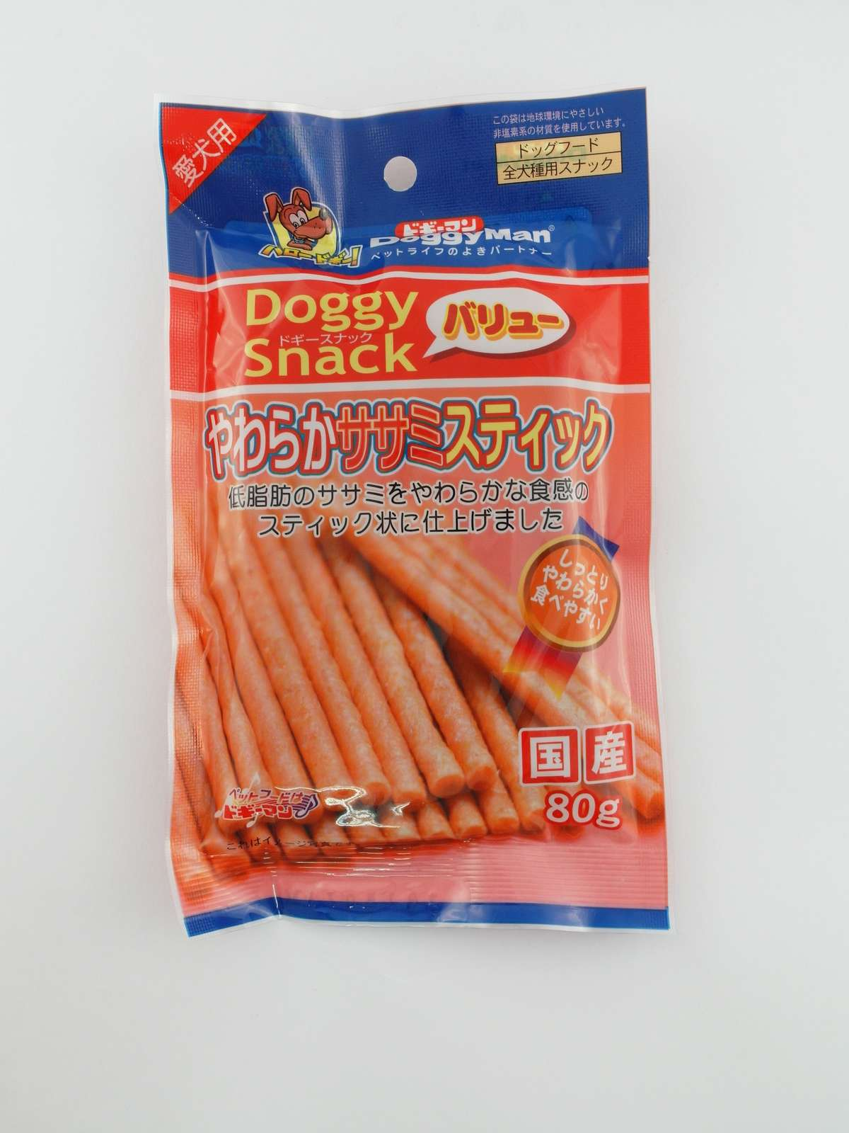 Doggy Snack Value Soft sasami stick 80g