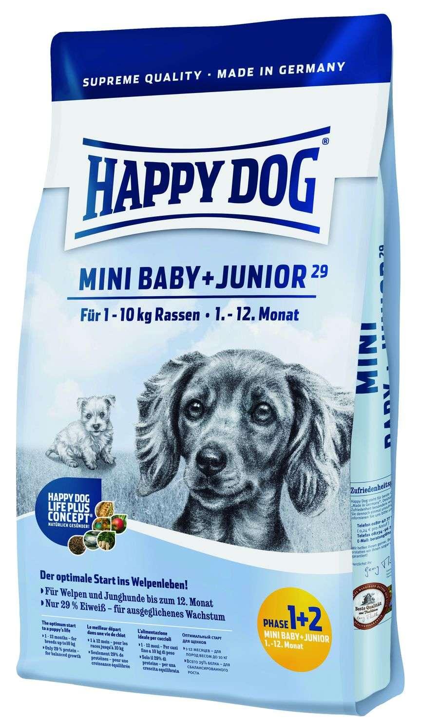 Mini Baby + Junior 29 4kg