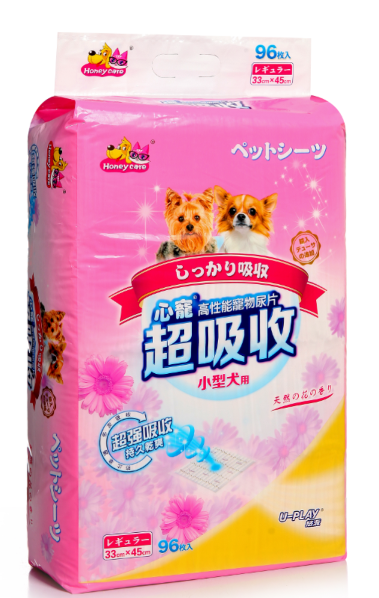 disposable pet pads@@@flower flavour 96pcs 33*45cm