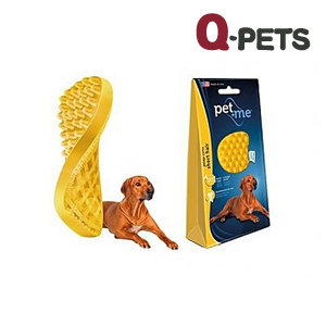PET+ME 多功能矽膠刷(黃色)