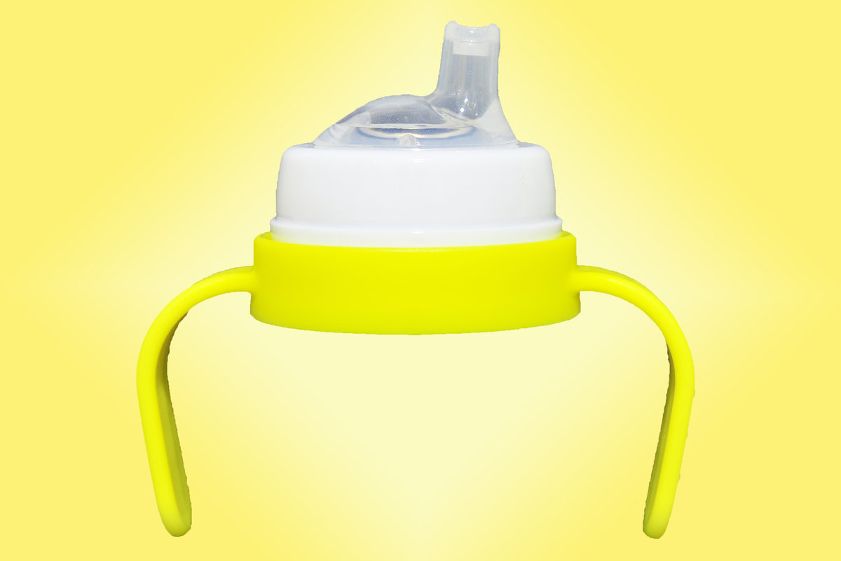 Handle Set Yellow (handle, ring & spout-9-18mths)