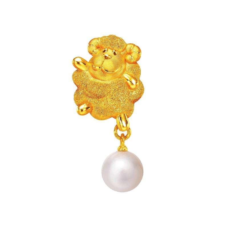 999 Gold Pendant