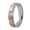 18K/750 Rose/White Gold Diamond Ring