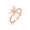 18K/750 Rose Gold Diamond Ring