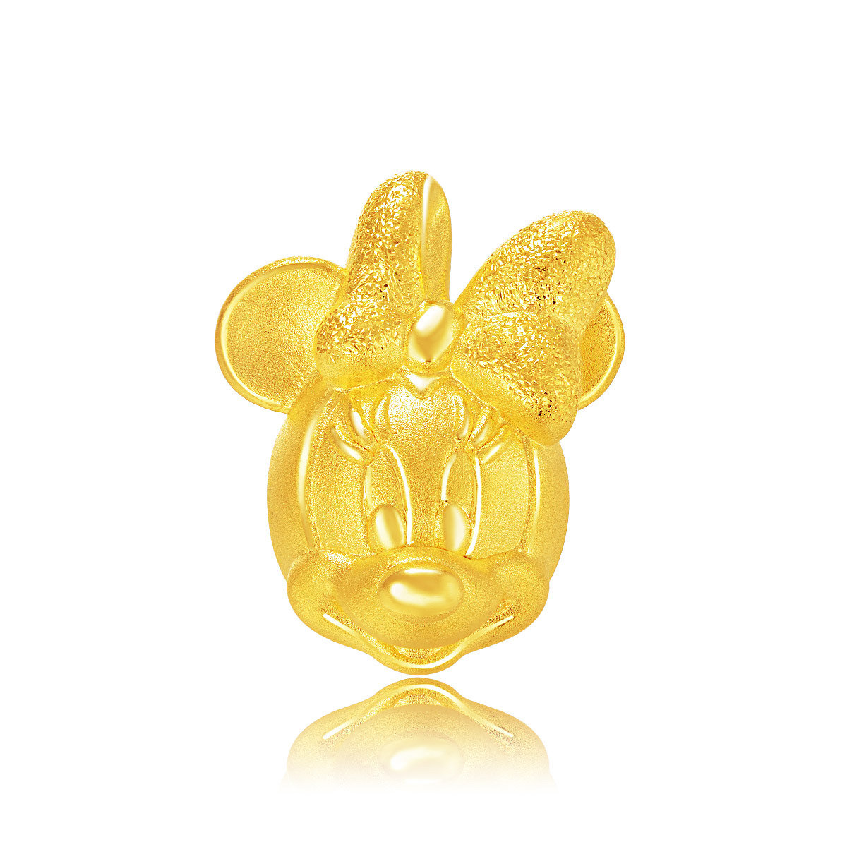 Disney Classics Collection: Minnie Mouse 999 Gold Charm (with String)