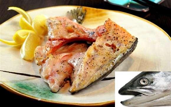 挪威三文魚魚頭 (開半) (急凍)