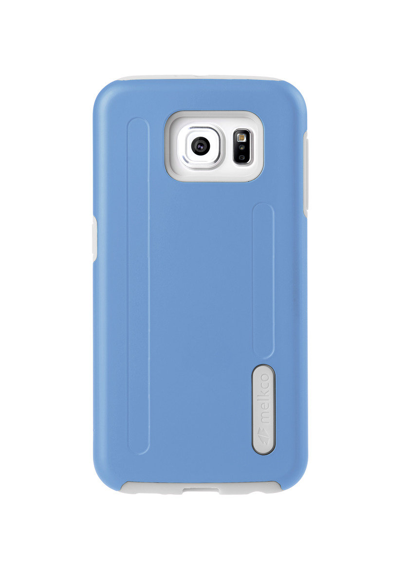 Kubalt Double Layer Case for Samsung Galaxy S6 - Blue/White