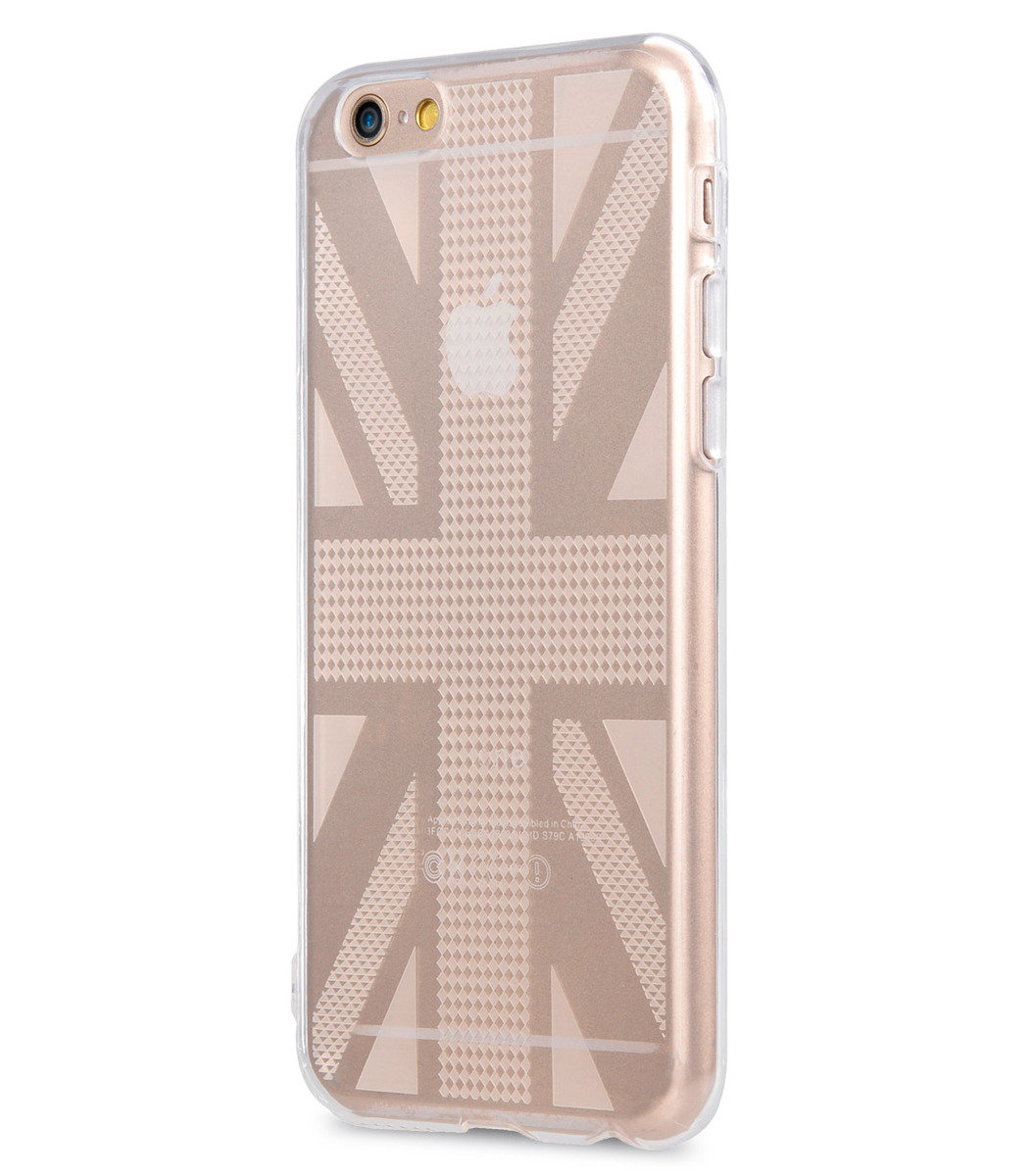 "Nation TPU Cases for iPhone 6S / 6 - 4.7"" (Transparent British Flag)"
