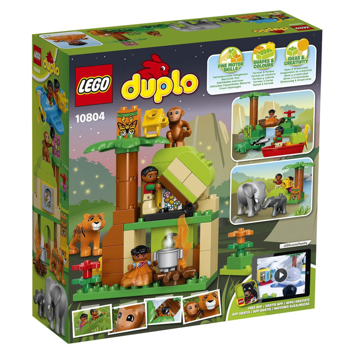 10804 DUPLO Town 叢林