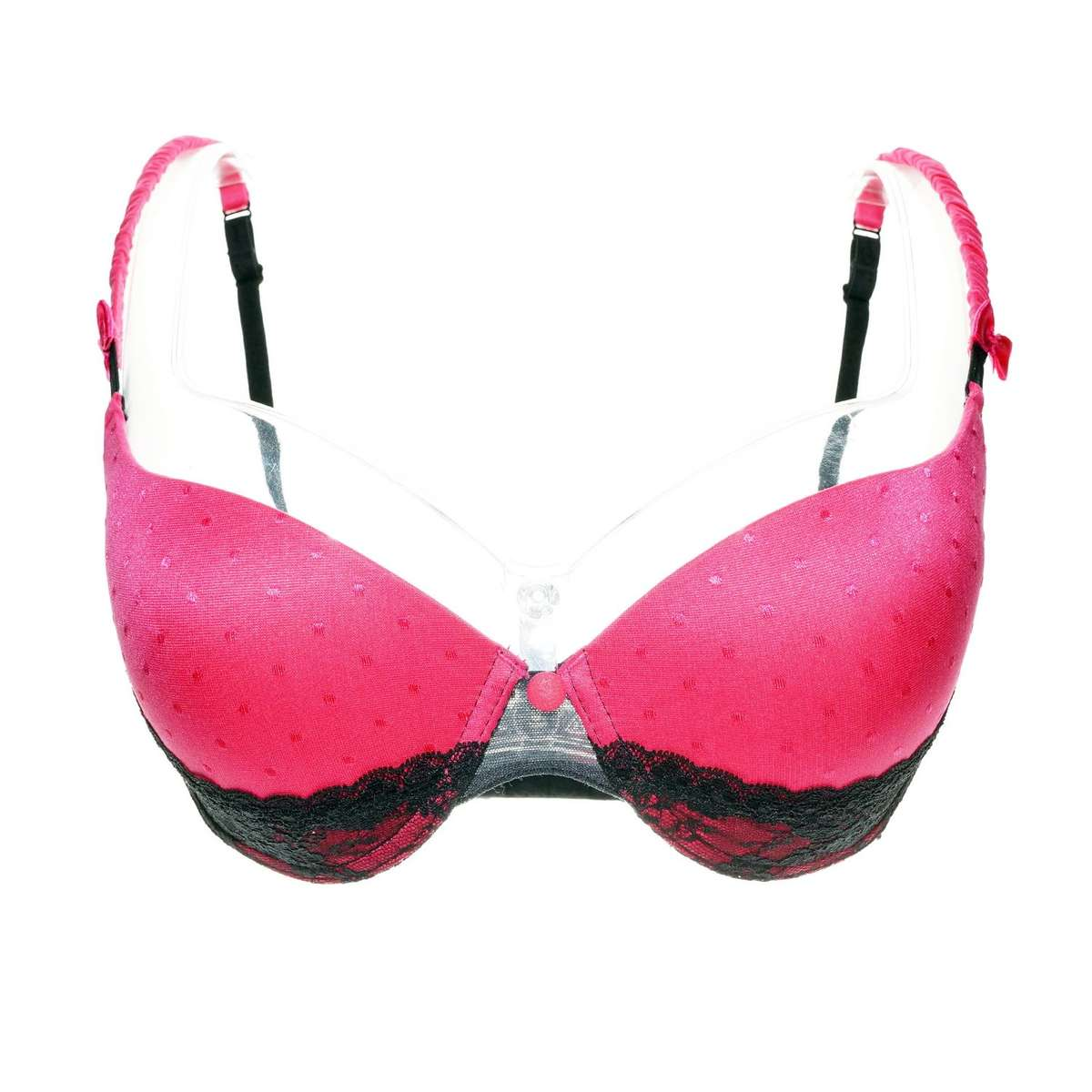 VIP Pink Padded 1/2 Bra