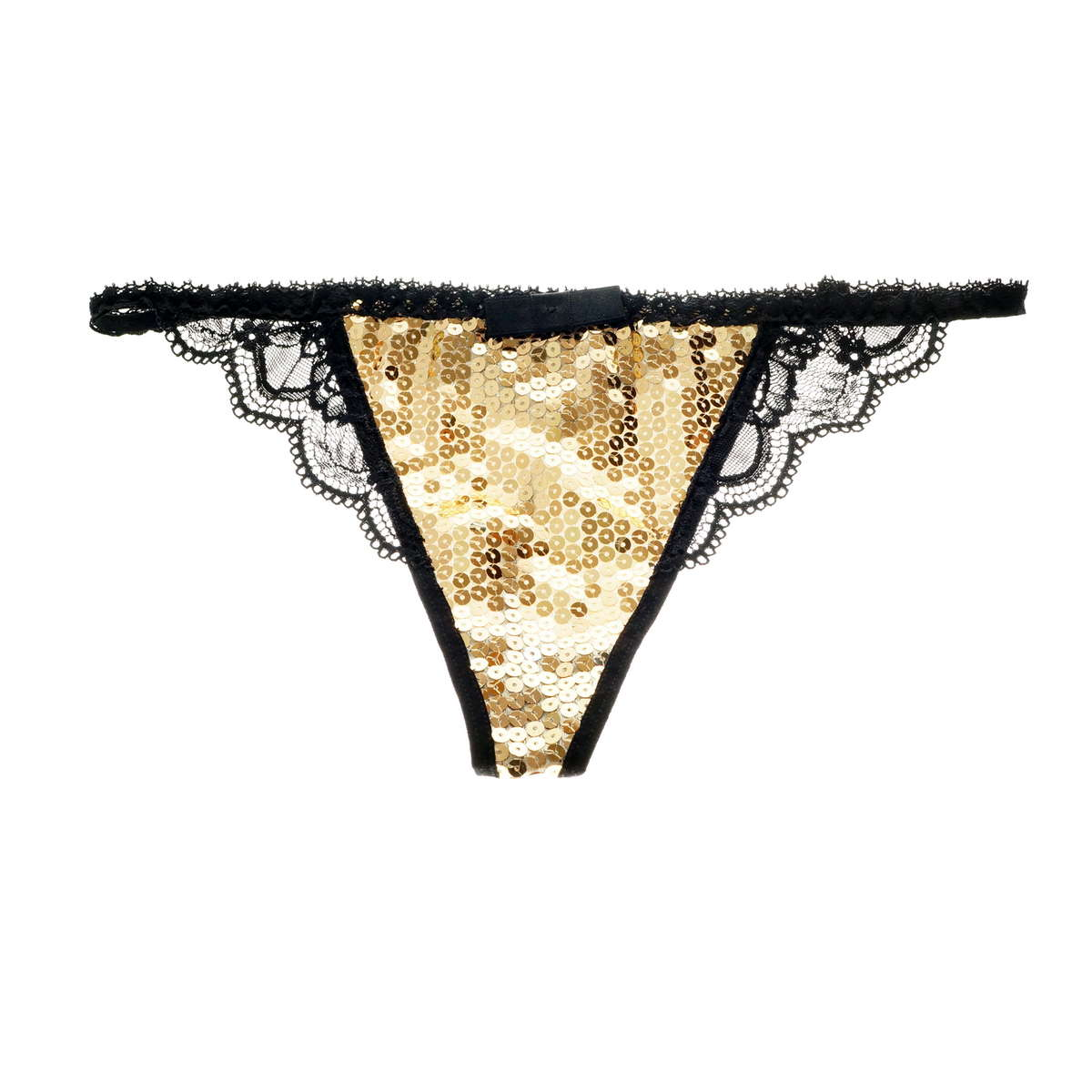 My Fit Lace Sequin Thong