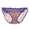 柔情紫色印花褲仔