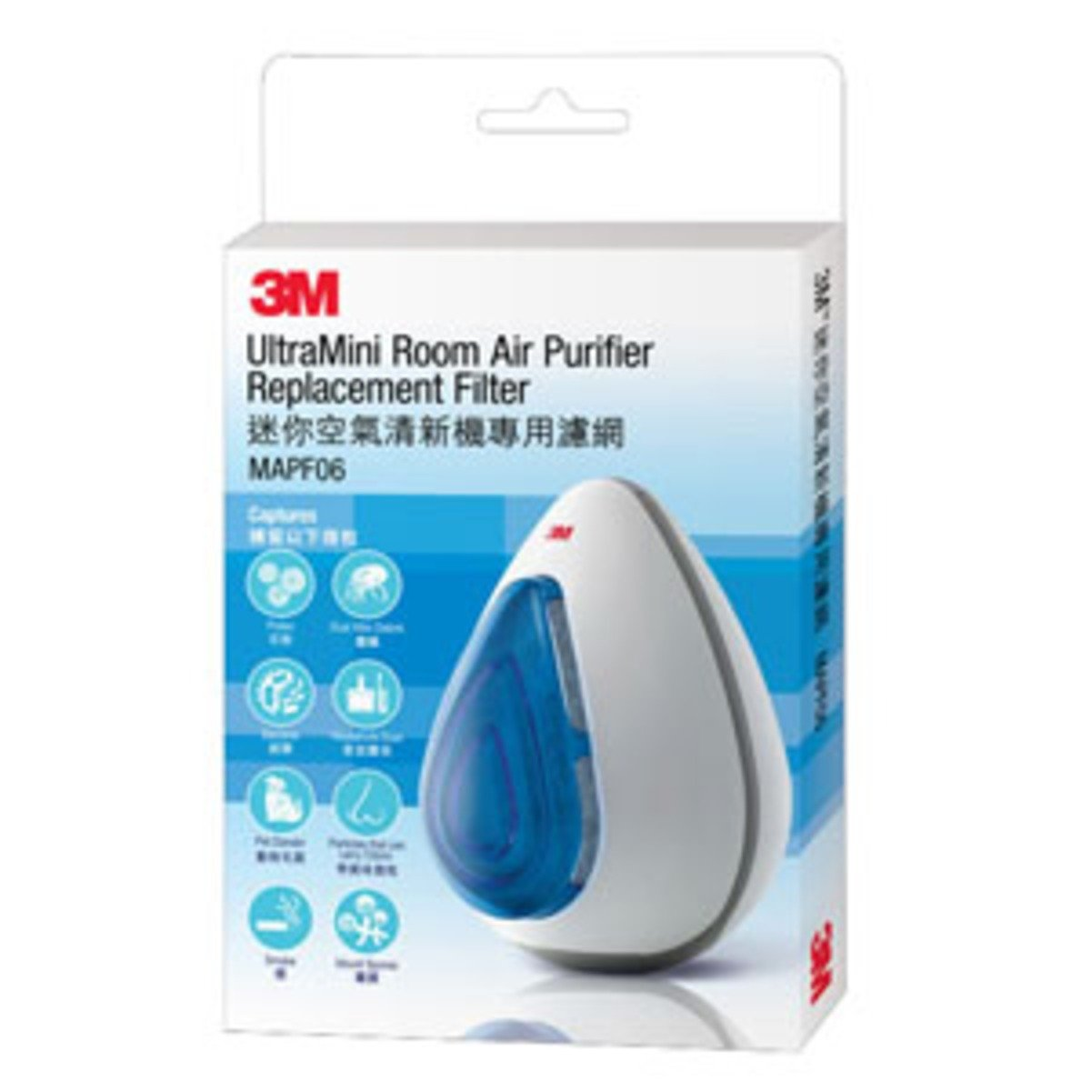 Ultra Mini Room Air Purifier Filter Refill