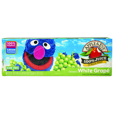 Grover's White Grape's juice (8x125mL)