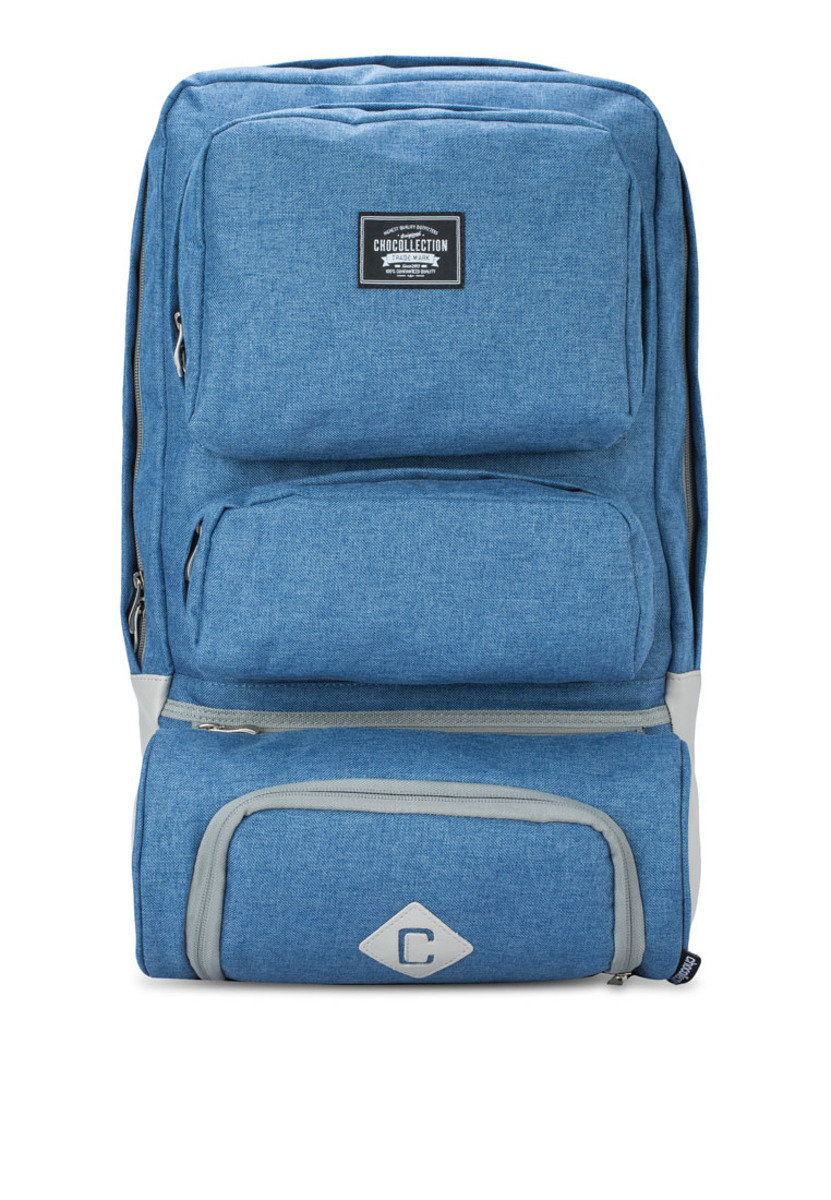 Lincoln Travel Backpack Stone Blue