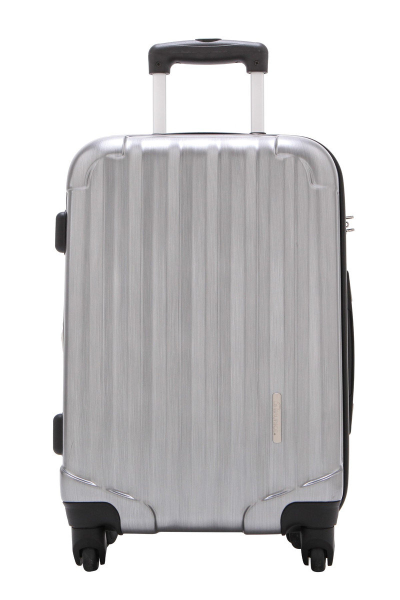 "Transform Expandable Series 28"" Suitcase Brushed Platinum"