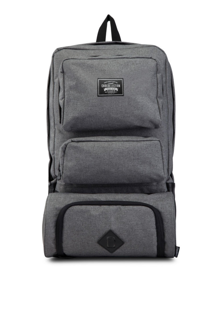 Lincoln Travel Backpack Charcoal