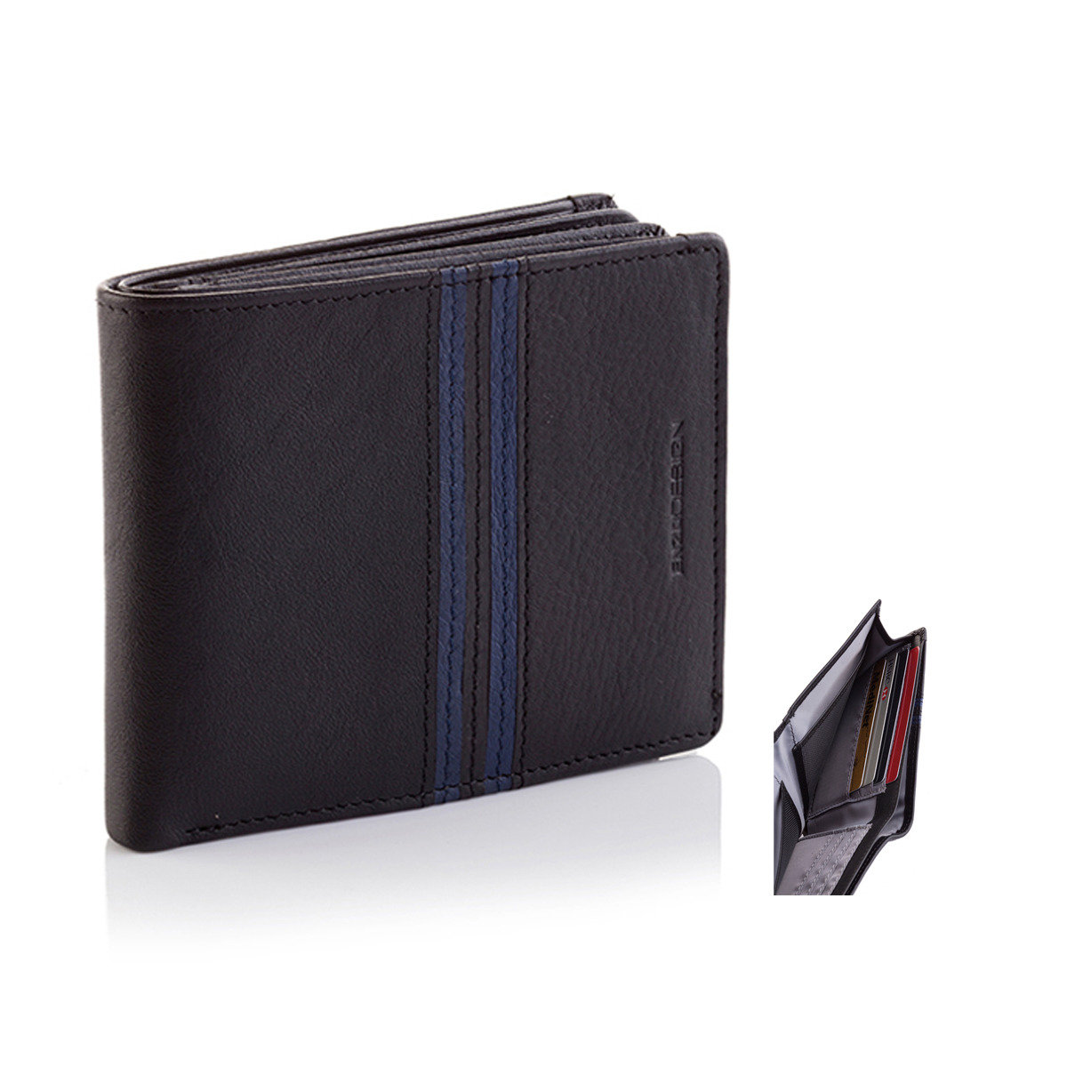 18 cards Top Grain Cow Nappa Wallet