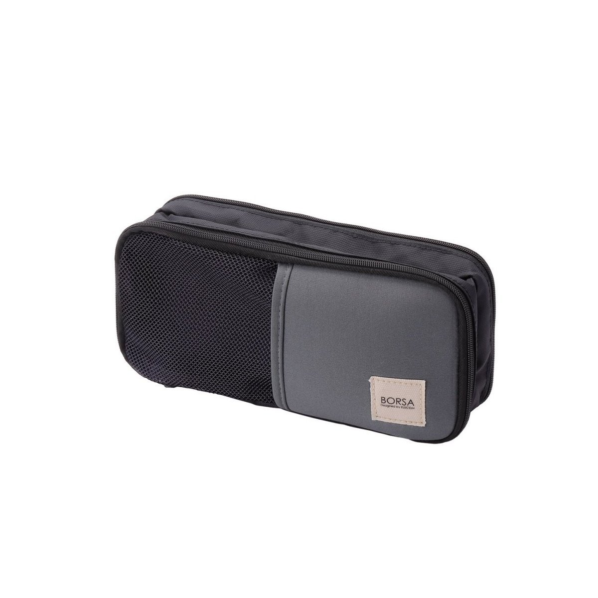 Multi-storing porch which gadgets such as portable power charger or cable (Black)