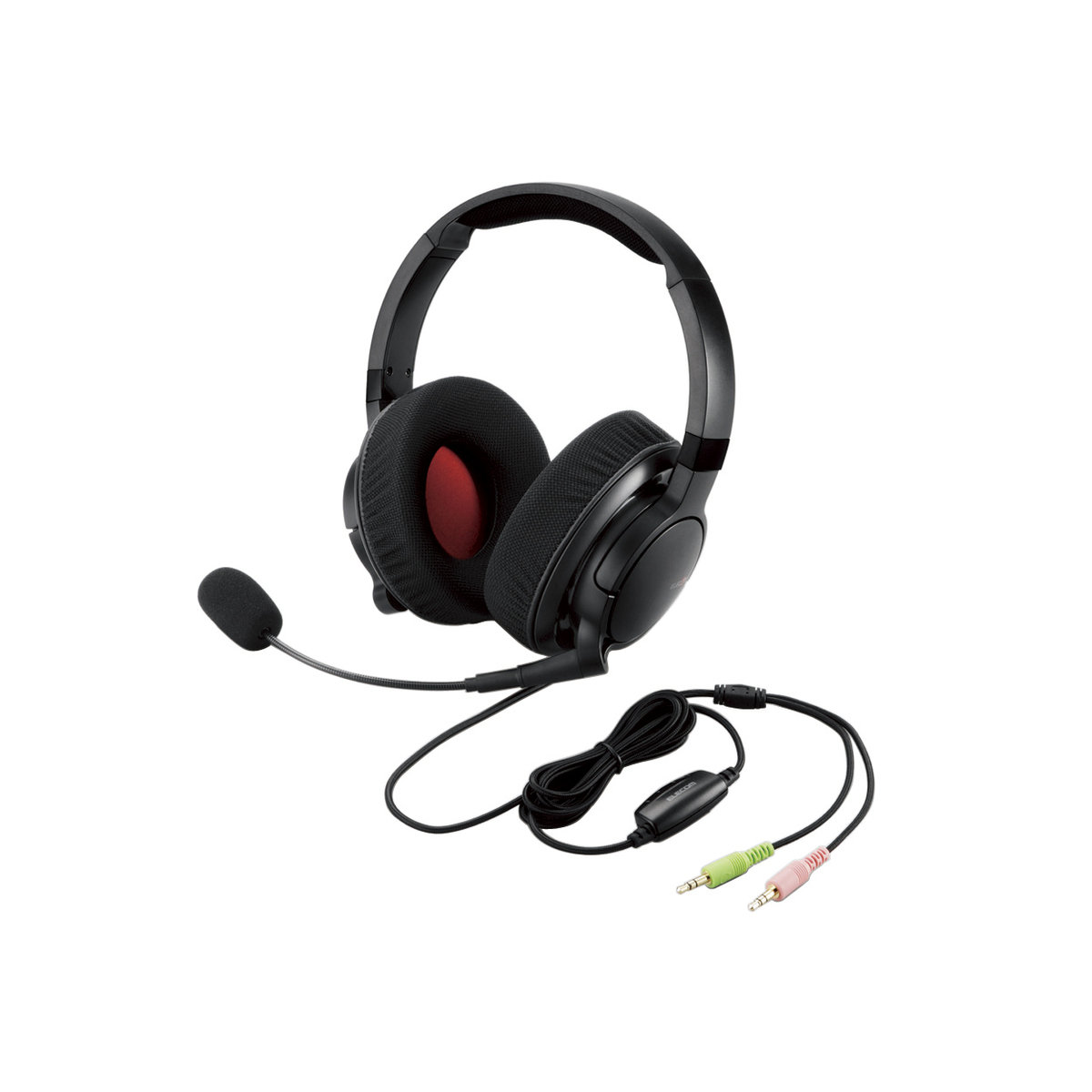 Stereo overhead headset for MMO gaming/DUX series/Retail store model