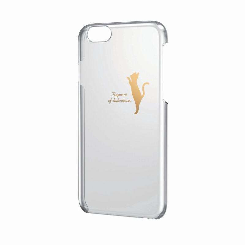 iPhone 6 金色少女風保護套(4.7-貓咪)