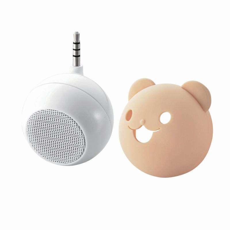 可愛小熊智能手機喇叭