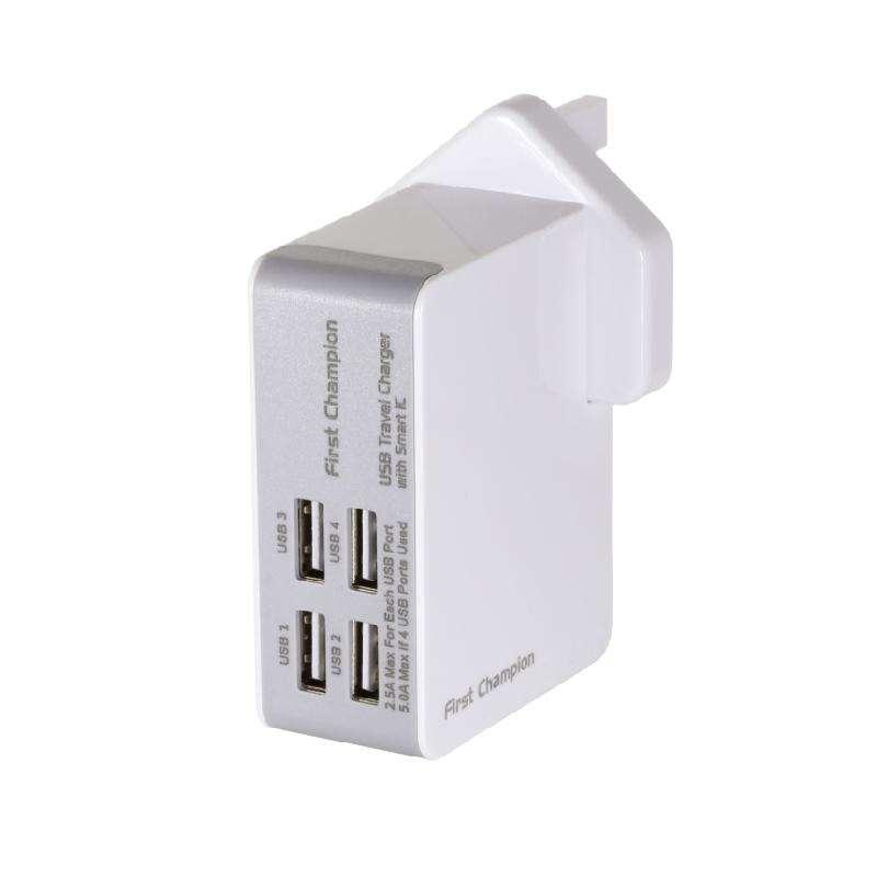 USB旅行充電器(27W)-UTC405