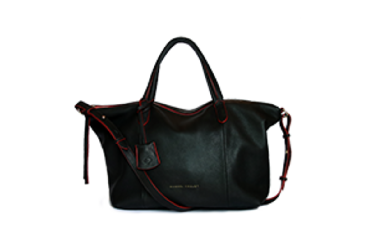 Natalie Tote Bag - Black