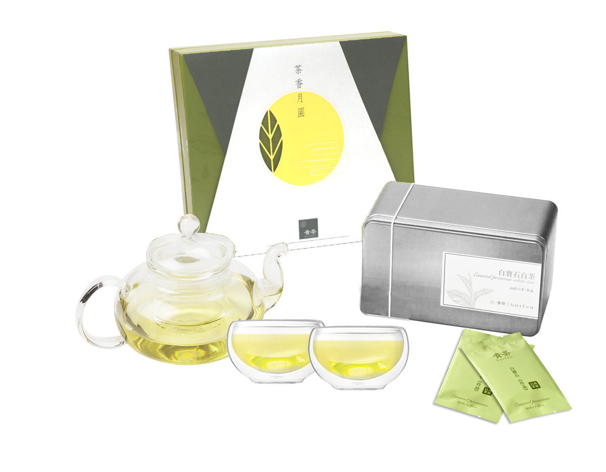 Luxury Emerail White Tea Gift Set