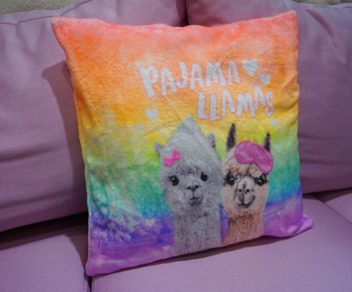 Printed Fleece Cushion