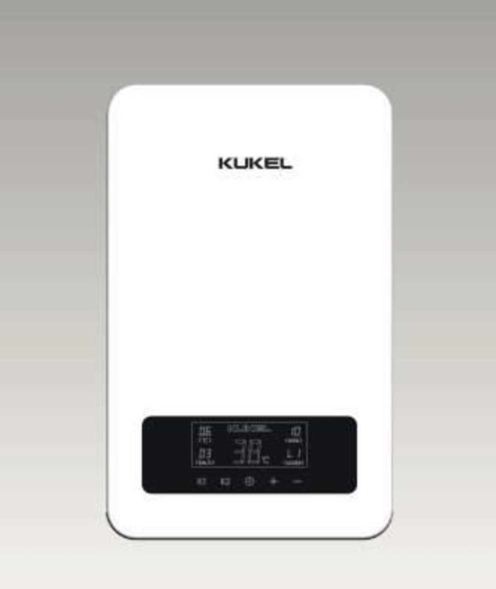 Porcelain-Energy instantaneous thermostat water heater 6.6kw for shower (KUL59-828-6.6kw)