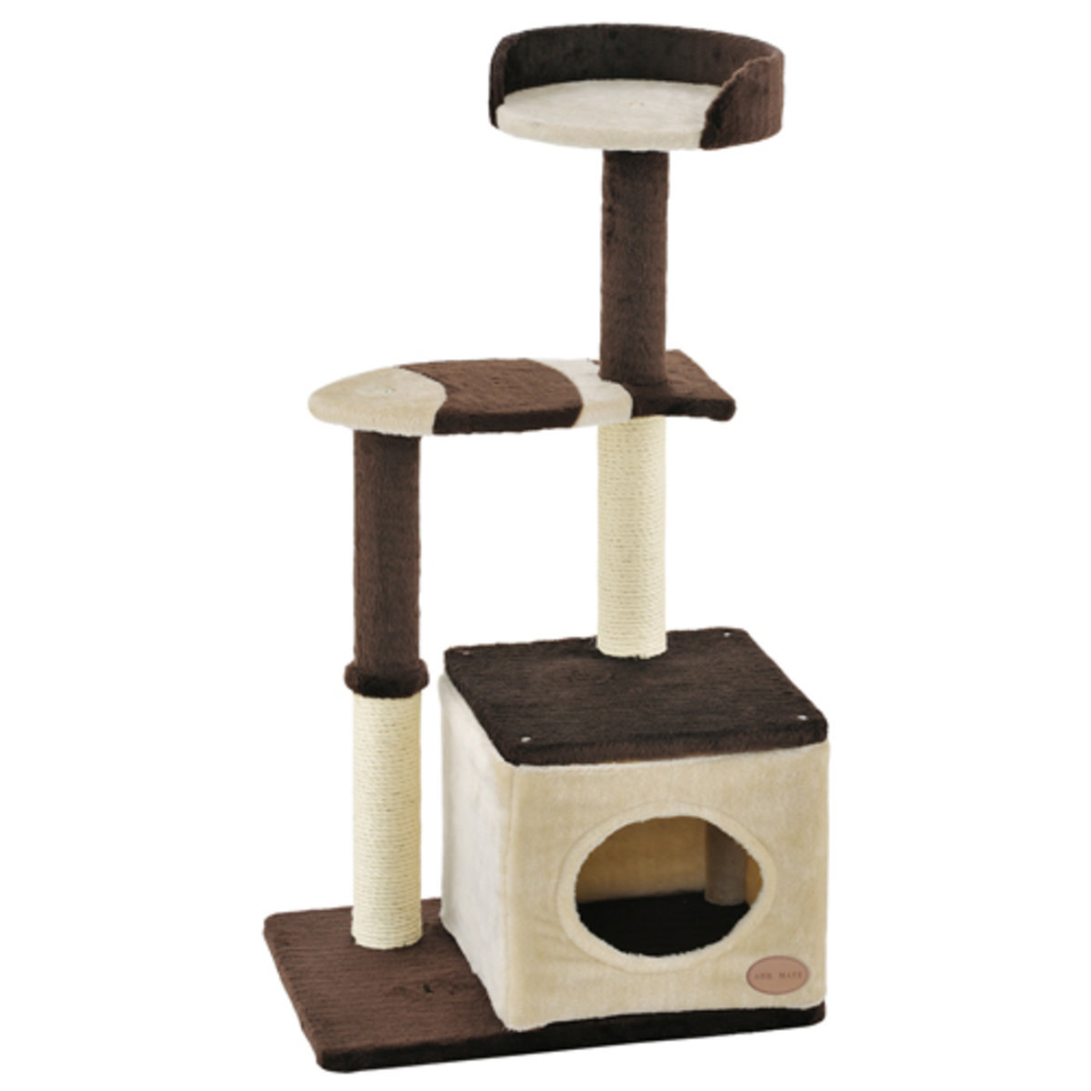 Add Mate Cat Tower Fish Family Middle Type (A23711)